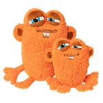 犬猫用 おもちゃ/ぬいぐるみ トイヤードスター Oobertオレンジ