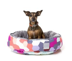 犬猫用 リバーシブルベッド - カレイドスコープ