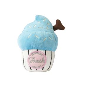 犬猫用 おもちゃ/ぬいぐるみ カップケーキ ブルー