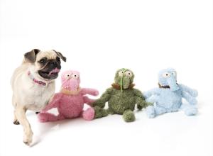 犬猫用 おもちゃ/ぬいぐるみ スクラチェッテ(のみ・ピンク)