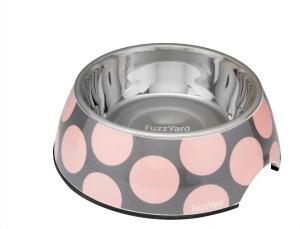 犬用フードボウル バブルピンク