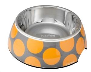 犬用フードボウル バブルオレンジ