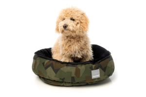 犬猫用 リバーシブルベッド - コマンドー