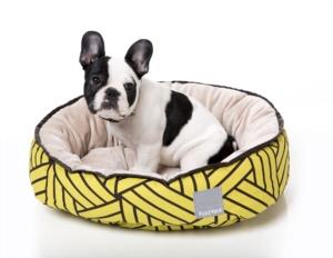 犬猫用 リバーシブルベッド - ピスタチオ
