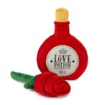 犬猫用 おもちゃ/ぬいぐるみ I Heart you Potion/Rose 2 Pack